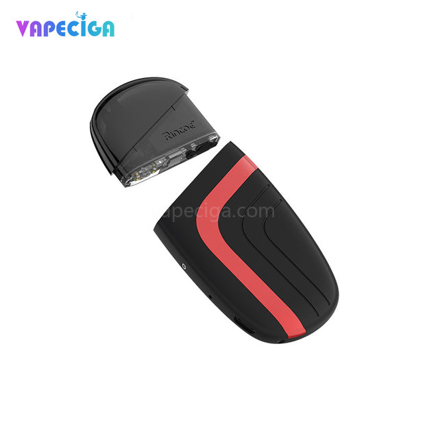 Rincoe Neso Vape Pod System Red Components