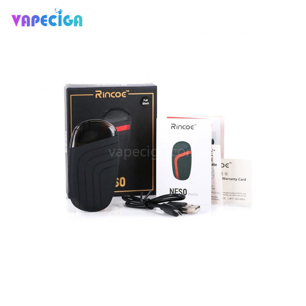 Rincoe Neso Vape Pod System Package Contents