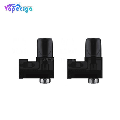 Black Rincoe Tix Replacement Pod Cartridge without Coil 2PCs