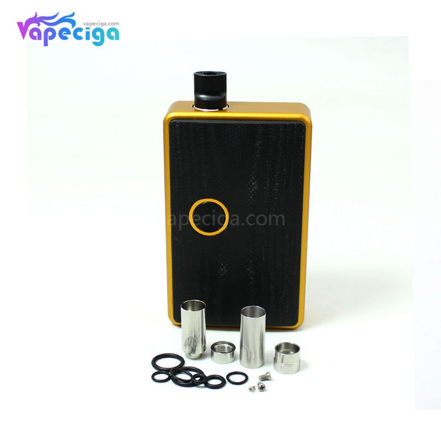 Gold SXK BB Style TC Box Mod Kit