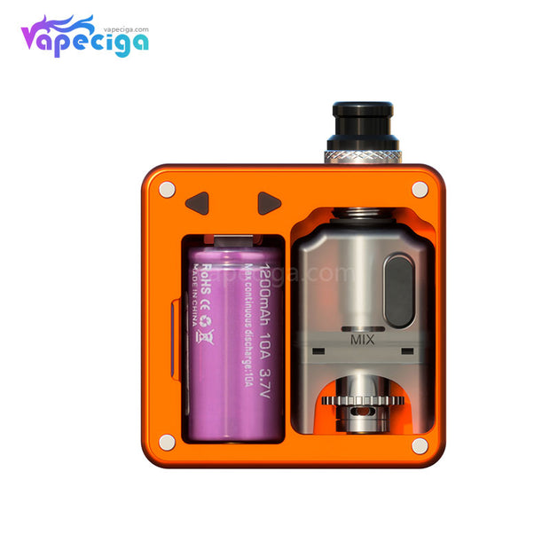 SXK Bantam Revision VW Box Mod Kit 30W 5ml Battery Cap