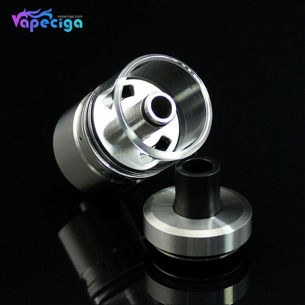 Silver SXK DB Lords Style MTL RTA 22mm 4ml Details