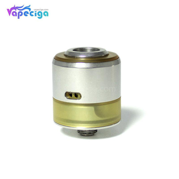 SXK Le Turbo V4 Style RDA 22mm Silver