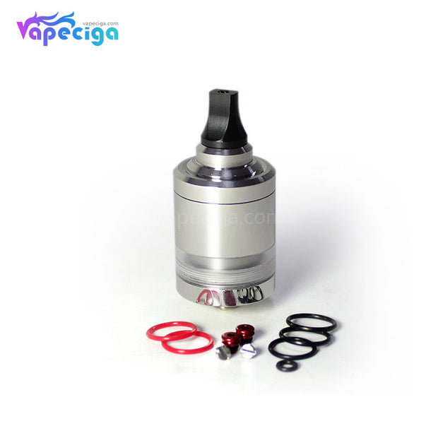 SXK NOI Style MTL RTA 316SS 4ml 22mm Display & Ring