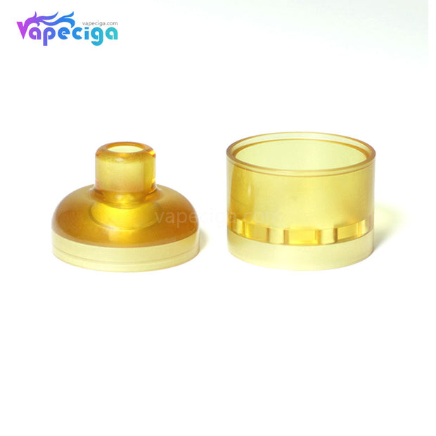 SXK Replacement PEI Top Cap + Drip Tip + Tank Tube for Hussar V1.5 RTA