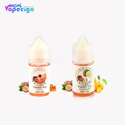 Salt E-liquid 60PG / 40VG 30mg 30ml 2 Flavors