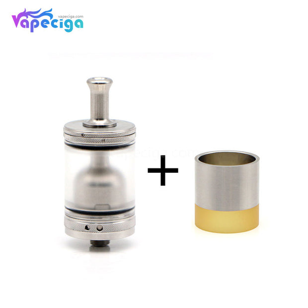 ShenRay TF GTR Style SS + PC RTA with SS / SS + PEI Tube 23mm 4ml