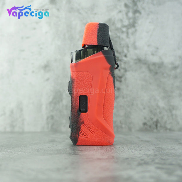 Silicone Protective Case for Geekvape Aegis Boost Kit Black Red