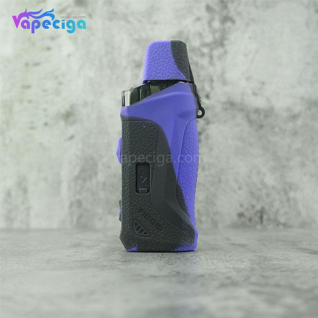 Silicone Protective Case for Geekvape Aegis Boost Kit Black Purple