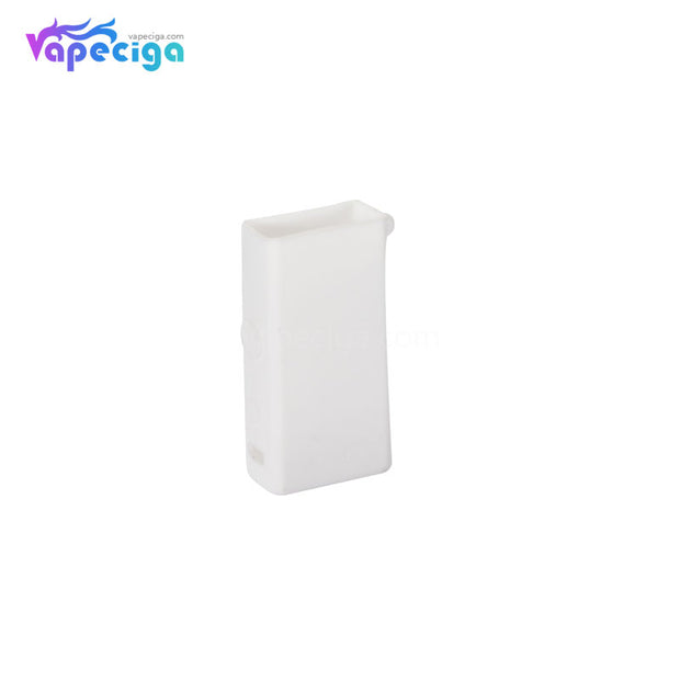 White Silicone Protective Case with Lanyard for Smoant Pasito Mod