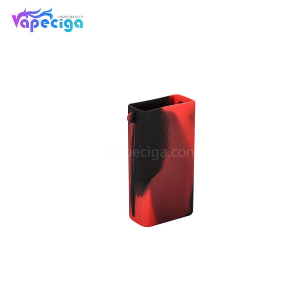 Camo Red Silicone Protective Case with Lanyard for Smoant Pasito Mod