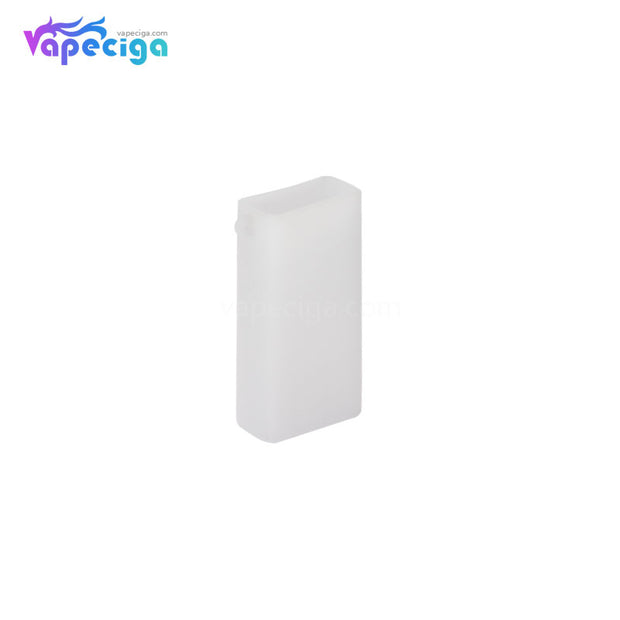 Transparent White Silicone Protective Case with Lanyard for Smoant Pasito Mod