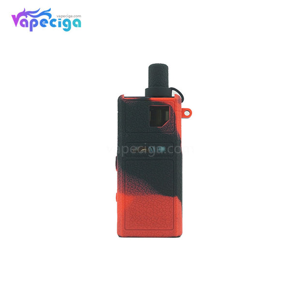 Silicone Protective Case for Smoant Pasito Pod System Black Red