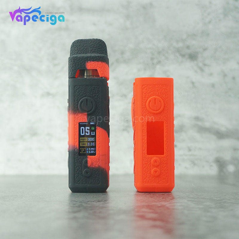 Silicone Protective Case for Voopoo Vinci VW Starter Kit 10 Optional Colors
