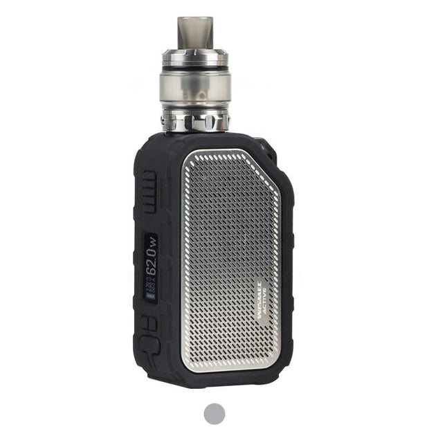 Silver WISMEC Active Bluetooth Music TC Kit with Amor NSE 2100mAh