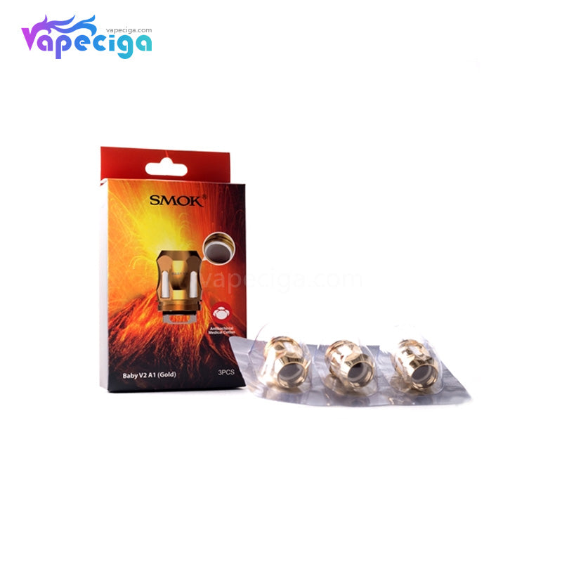 Smok TFV8 Baby V2 A1 Replacement Coil Head 0.17ohm 3PCs