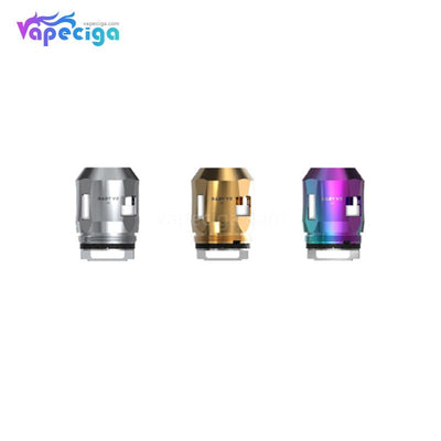 3 Smok TFV8 Baby V2 A2 Replacement Coil Head Colors Choose