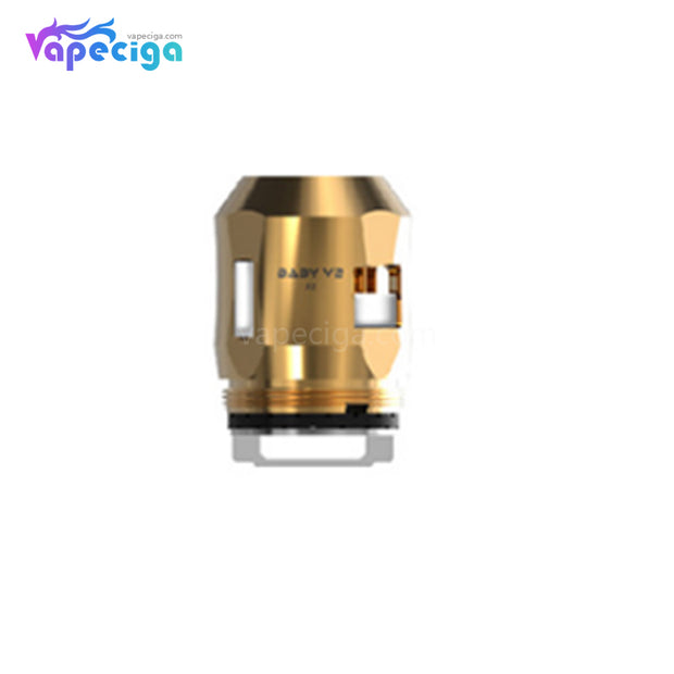 Smok TFV8 Baby V2 A2 Replacement Coil Head Gold
