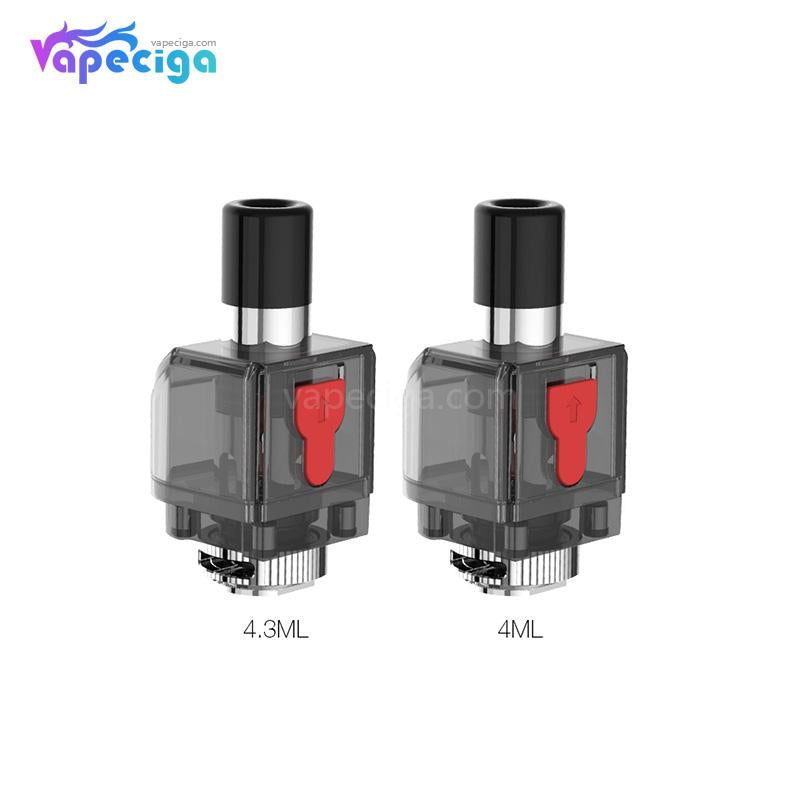 Smok Fetch Pro Replacement Empty 4.3ml RPM / 4ml RGC Pod Cartridge 3PCs