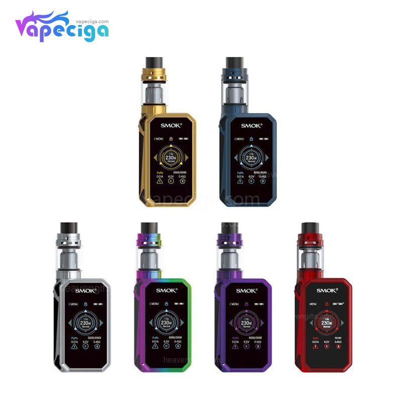Smok G-Priv 2 TC Mod Kit with TFV8 X-Baby Tank Touch Screen 230W 4ml
