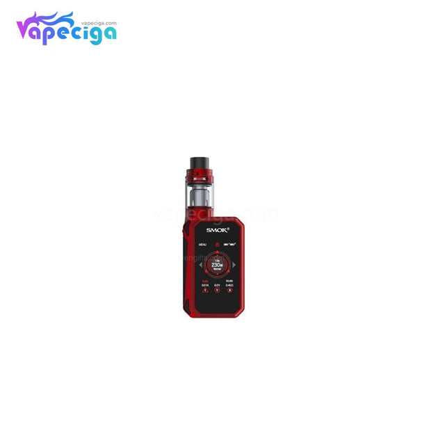 Smok G-Priv 2 TC Mod Kit with TFV8 X-Baby Tank Red Black