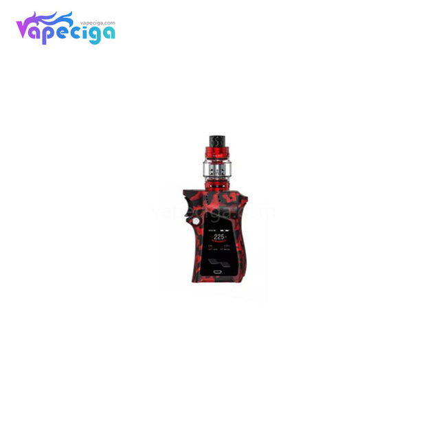Red Camouflage - Smok Mag TC Mod Kit with TFV12 Prince Tank 225W 8ml