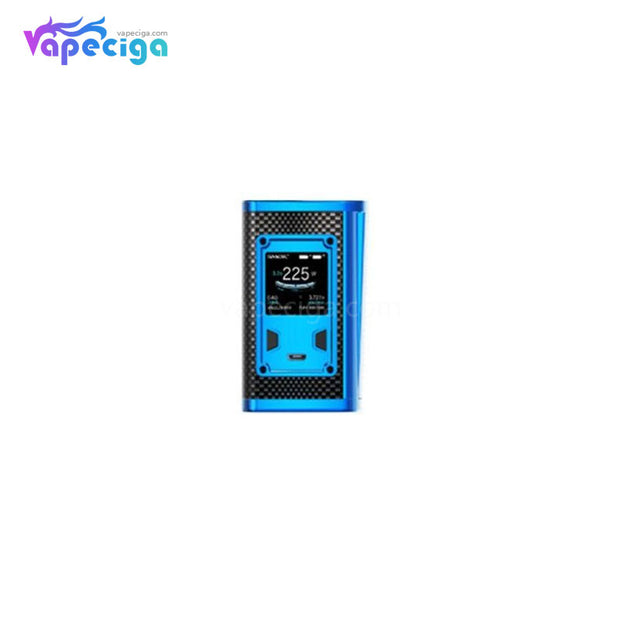 Smok Majesty TC Box Mod 225W Prism Blue and Black Cobra