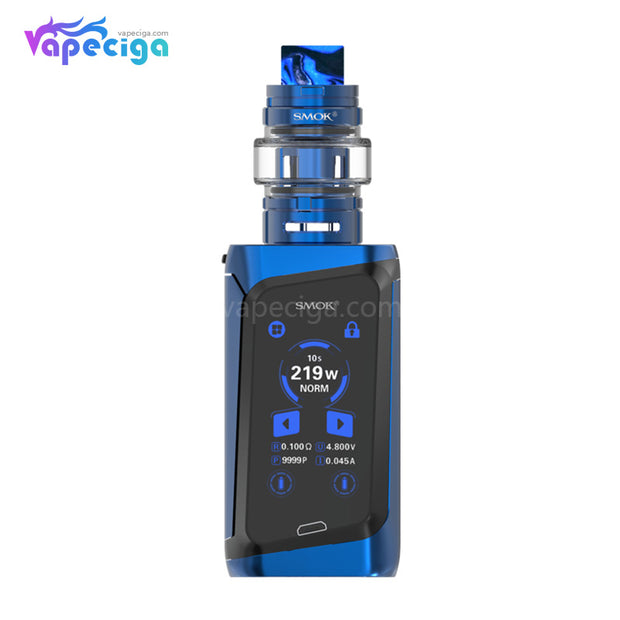 Smok Morph 219W TC Mod Kit with 6ml TF Tank Prism Blue And Black