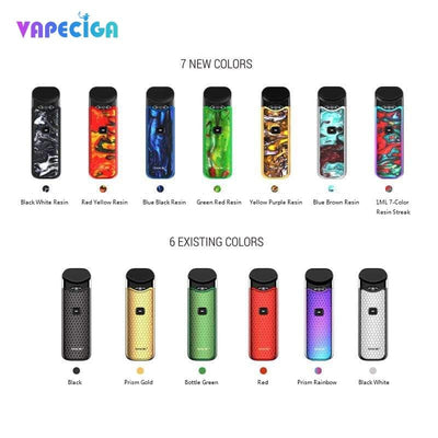 Colorful Smok Nord Vape Pod System 1100mAh 3ml