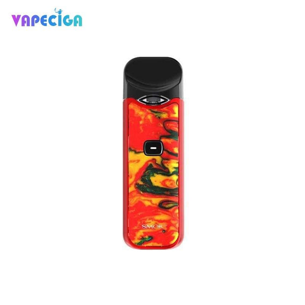 Red yellow Resin Smok Nord Vape Pod System