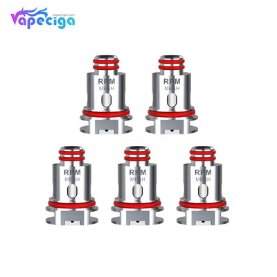 Smok RPM 40 Replacement Coil Head 0.3 / 0.4 / 0.6 / 0.8 / 1.0 / 1.2ohm 5PCs