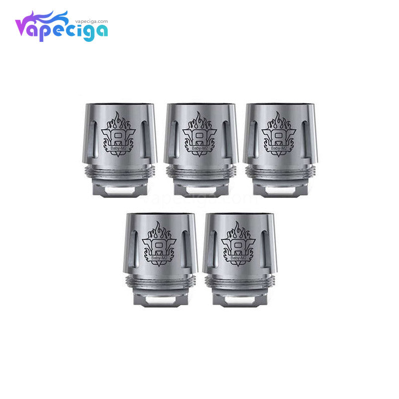 Smok TFV8 Baby M2 Replacement Coil Head 0.25ohm 5PCs
