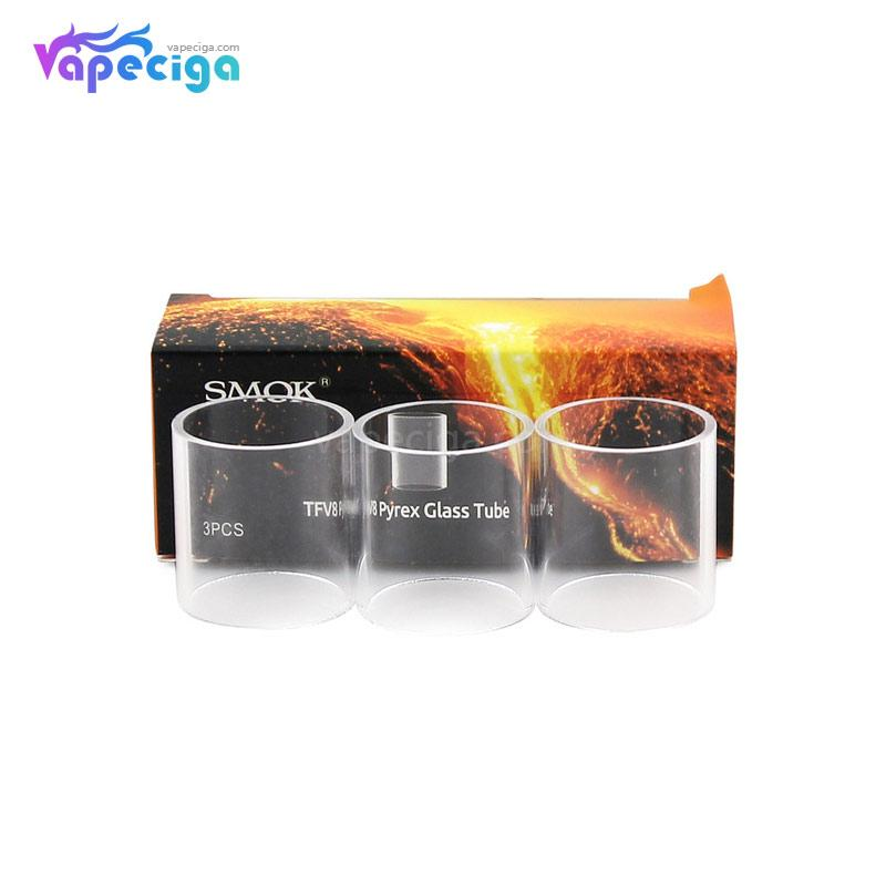 Smok TFV8 Baby Replacement Pyrex Glass Tube 3ml 3PCs