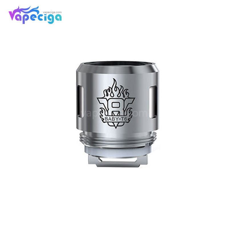 Smok TFV8 Baby T6 Replacement Coil Head 0.2ohm 5PCs