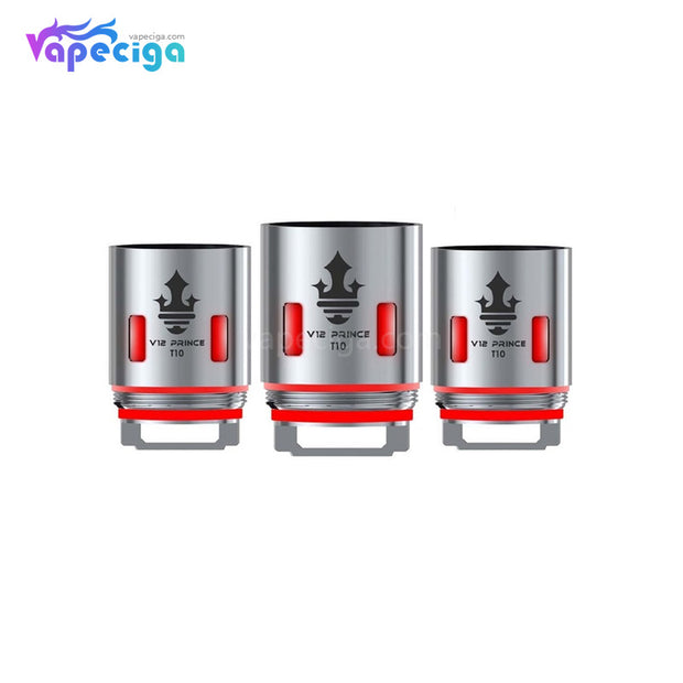 Smok V12 Prince-T10 Replacement Coil Head Details