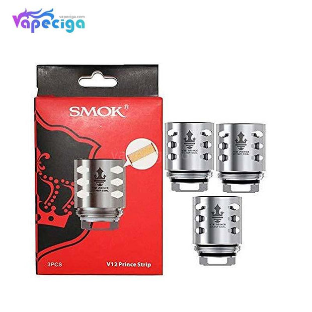 Smok V12 Prince Strip Replacement Coil Head 0.15ohm 3PCs Silver