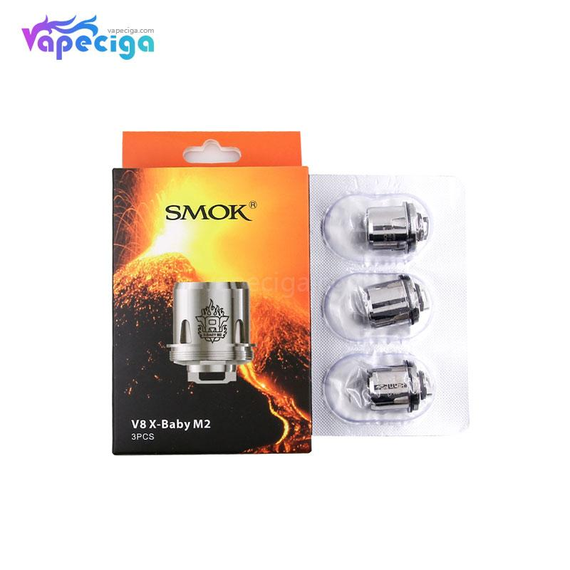 Smok V8 X-Baby M2 Replacement Coil Head 0.25ohm 3PCs