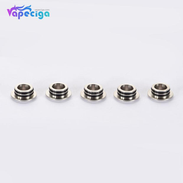 Stainless Steel 810 to 510 Drip Tip Adapter 5PCs / Pack