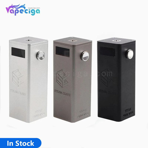 Steam Crave Titan PWM VW Box Mod 300W