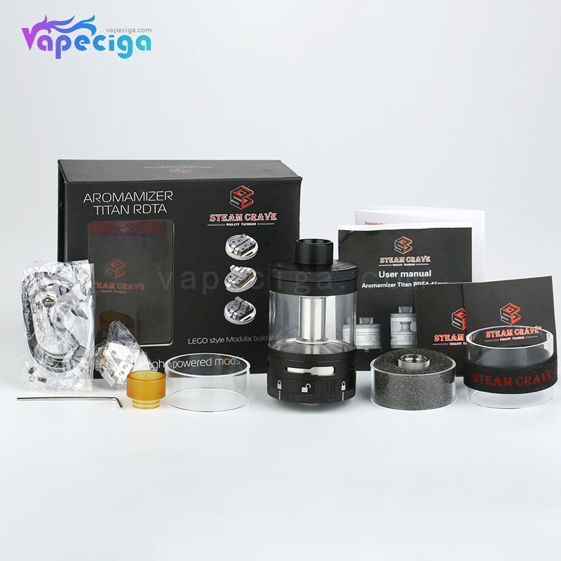 Steam Crave Aromamizer Titan RDTA 28ml 41mm