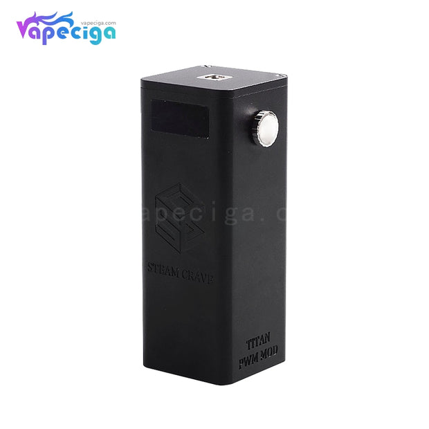 Steam Crave Titan PWM VW Box Mod 300W Black