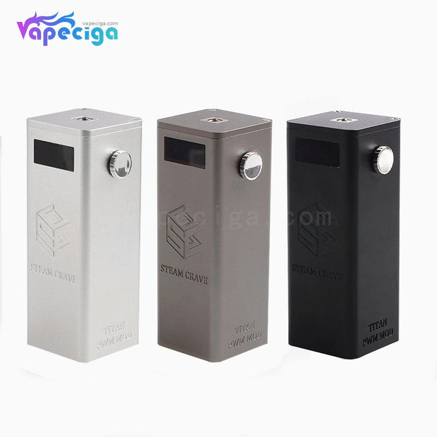 Steam Crave Titan PWM VW Box Mod 300W 3 Colors Optional