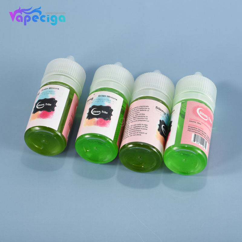 Steam Tribe E-liquid 60PG / 40VG 3 / 5 / 35 / 50mg 30ml 17 Flavors