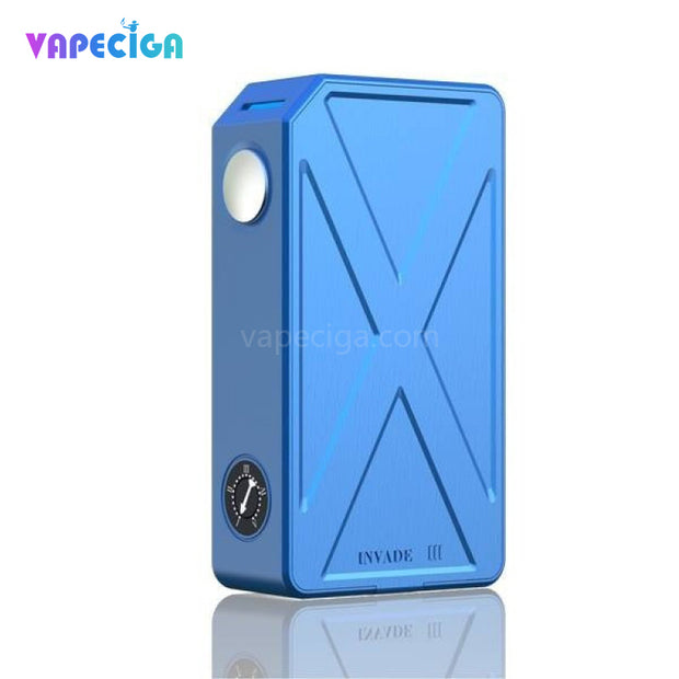 Blue TESLA Invader III VV/VW Box Mod