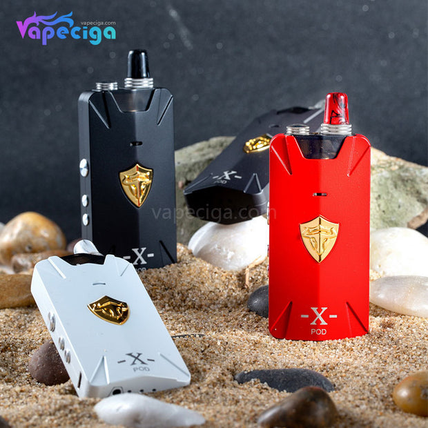 Thunderhead Creations Tauren X Vape Pod System Starter Kit Mesh Version Real Shots 1000mAh 2ml