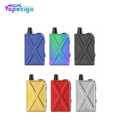 Teslacigs Invader GT Pod System VW Starter Kit 50W 1200mAh 3ml 6 Colors Optional