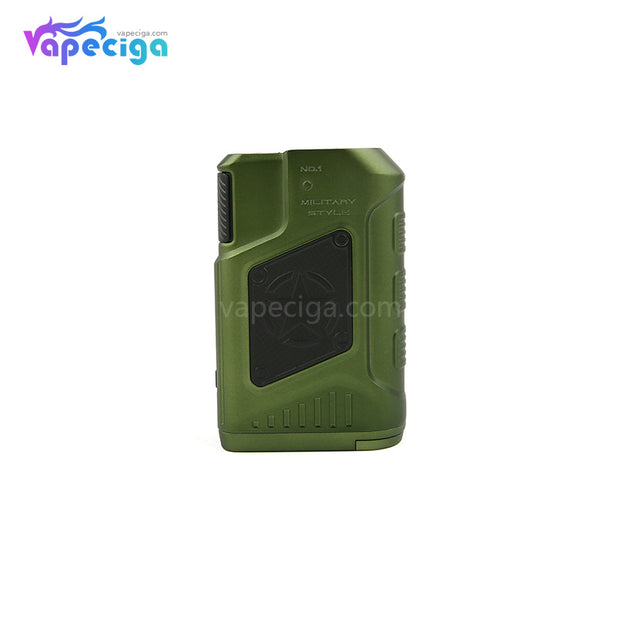 Military Green Teslacigs P226 TC Box Mod