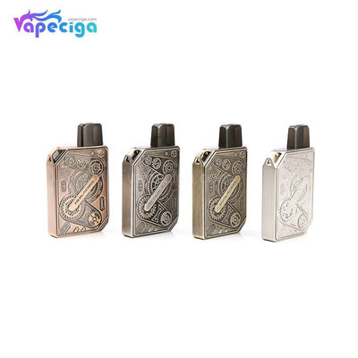 Teslacigs Punk Pod System Starter Kit 620mAh 1.2ml 4 Colors Optional