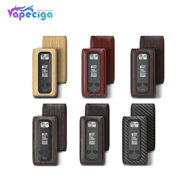 Think Vape Thor TC Box Mod Wood Grain Version 6 Optional Colors