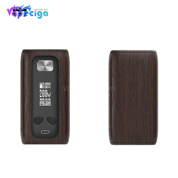 Think Vape Thor TC Box Mod - Rossewood Grain Version